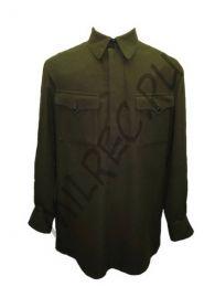 Гимнастерка (рубаха) суконная для рядового состава обр. 1935 г.,  реплика  (под заказ)