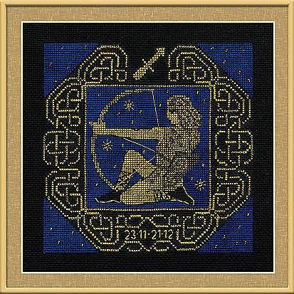Набор для вышивания крестом Стрелец №1209 фирма Риолис
