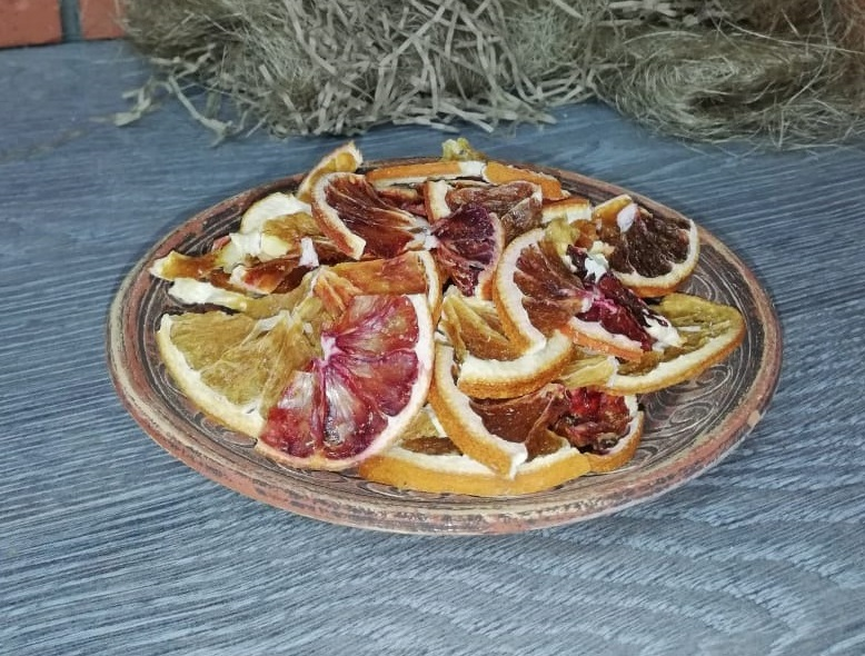 Апельсин красный ( до 50%) 50 гр.