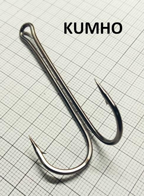 """Крючок двойник """"KUMHO"""" 2Х удлиненный"""