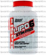 Lipo-6 stim-free (без кофеина) 60; 120  капс (Nutrex)