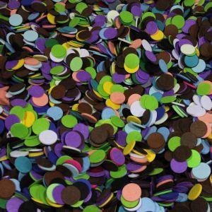 `Фетровые пяточки 35мм, цвет МИКС №01 (1уп = 12,5г, около 80шт)