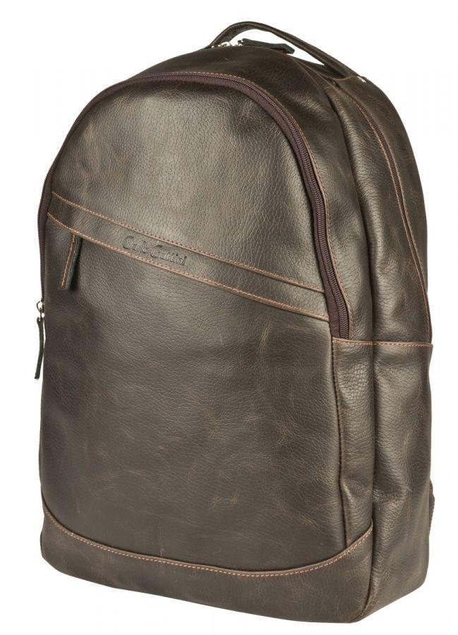 Кожаный рюкзак Carlo Gattini Briotti brown