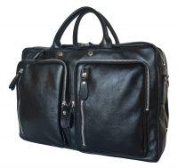 Кожаная сумка-рюкзак Carlo Gattini Ferrone black