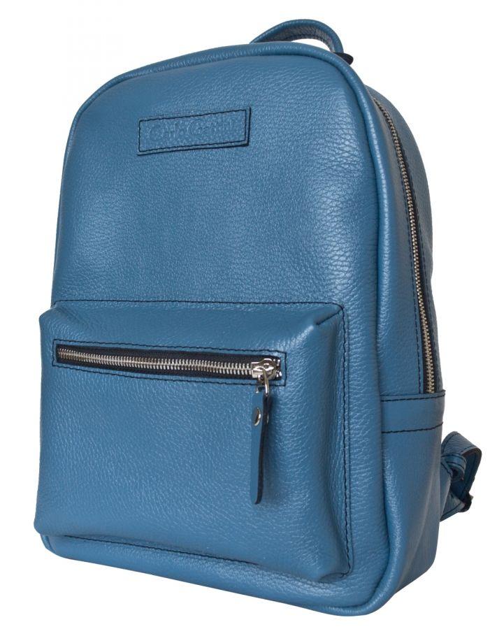 Женский кожаный рюкзак Carlo Gattini Anzolla blue