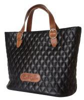 Кожаная женская сумка Carlo Gattini Carolina black