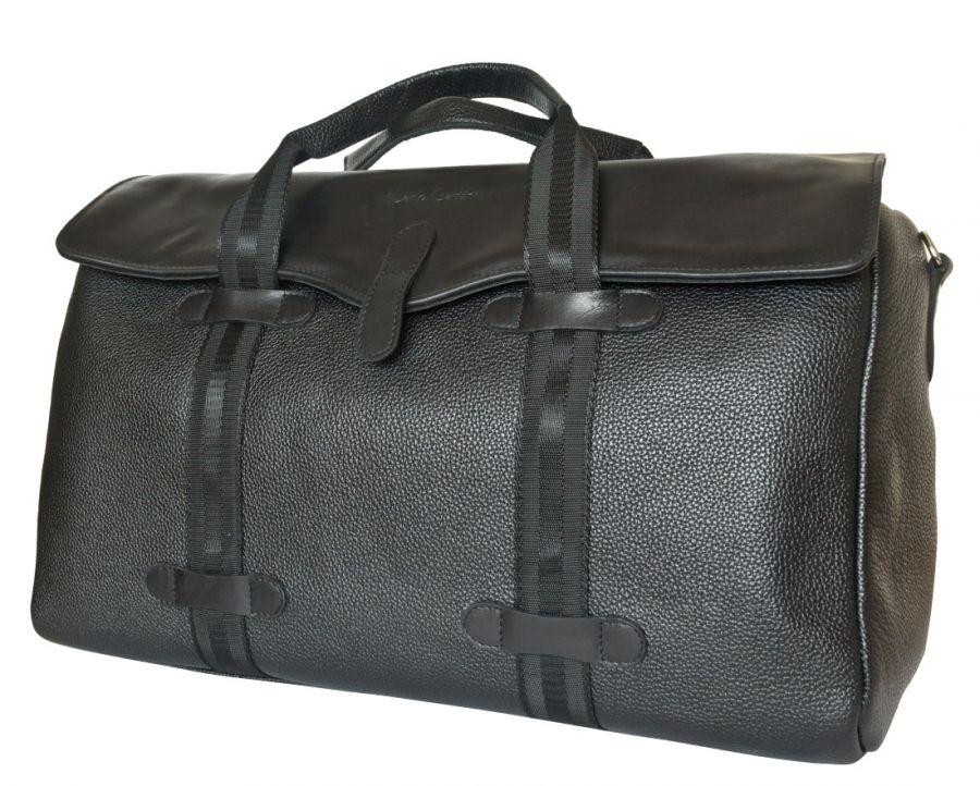 Кожаная дорожная сумка Carlo Gattini Mondragone black
