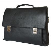 Кожаный портфель Carlo Gattini Ferentillo black