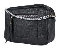 Кожаная сумка Carlo Gattini Pilati black