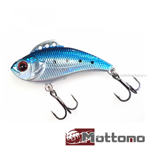 Воблер Mottomo Saltar 40S 40 мм / 4 гр / цвет: Dark Blue Silver