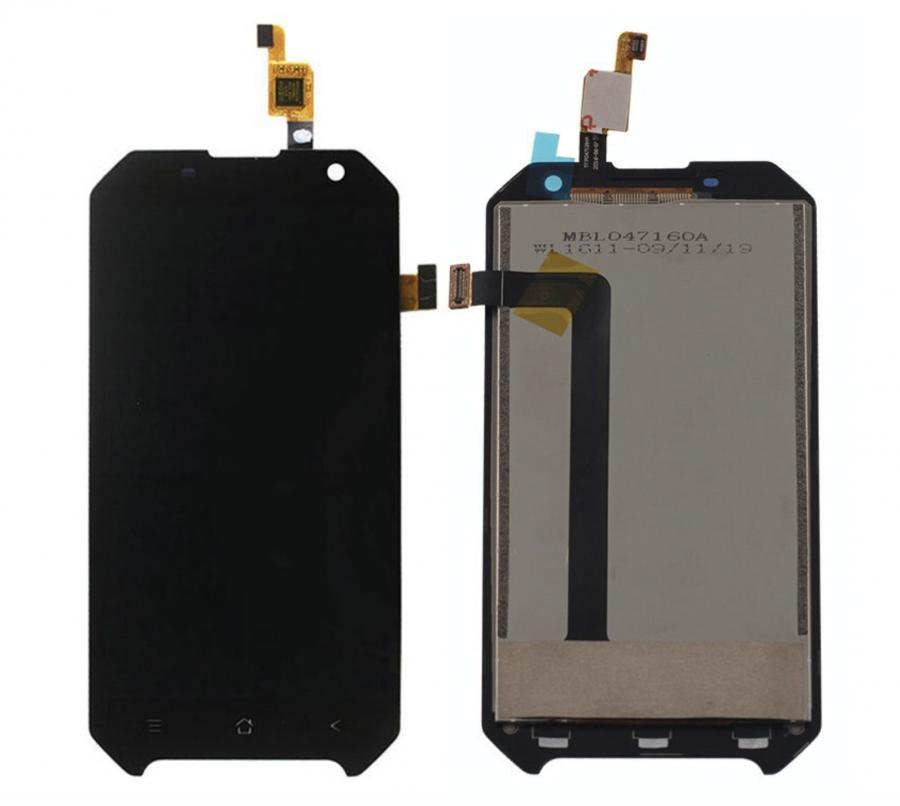 LCD (Дисплей) Blackview BV6000 (в сборе с тачскрином) (black) Оригинал