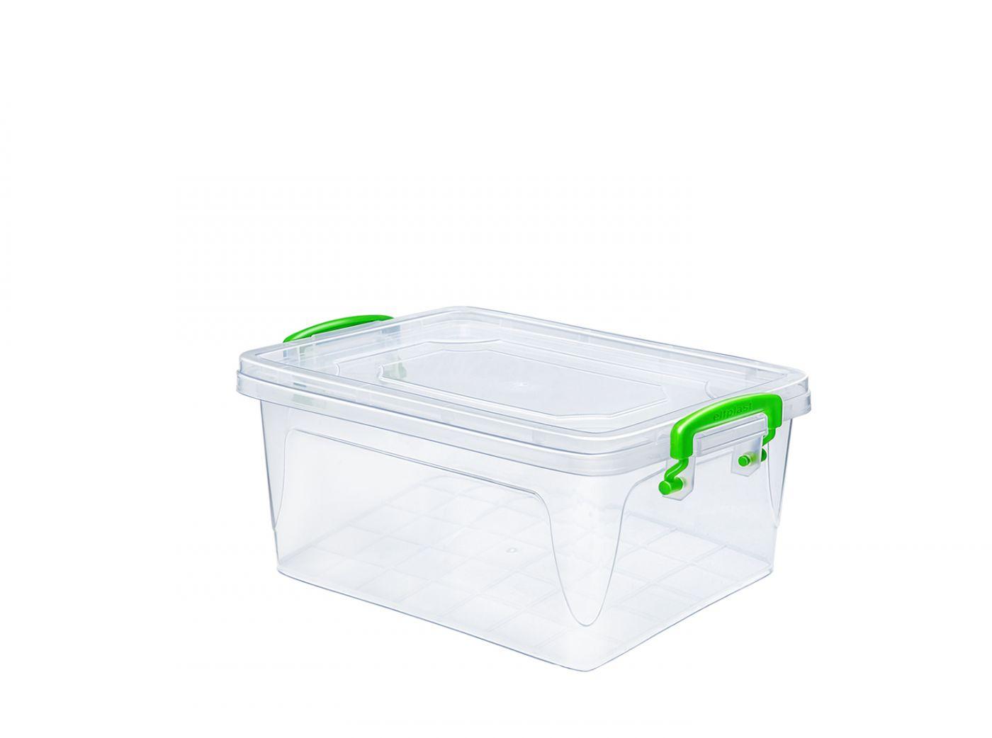 Контейнер для хранения Эльфпласт Fresh Box 1,5 литра с крышкой 21,5х14,5х10 см