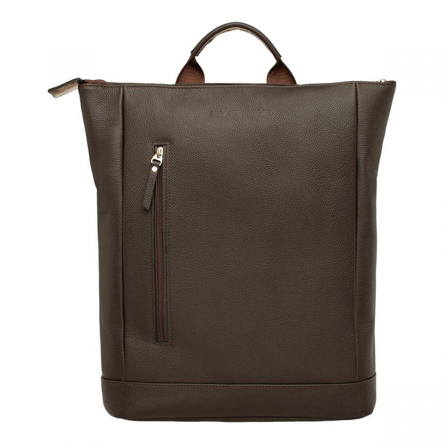 Кожаный рюкзак LAKESTONE Coberley Brown
