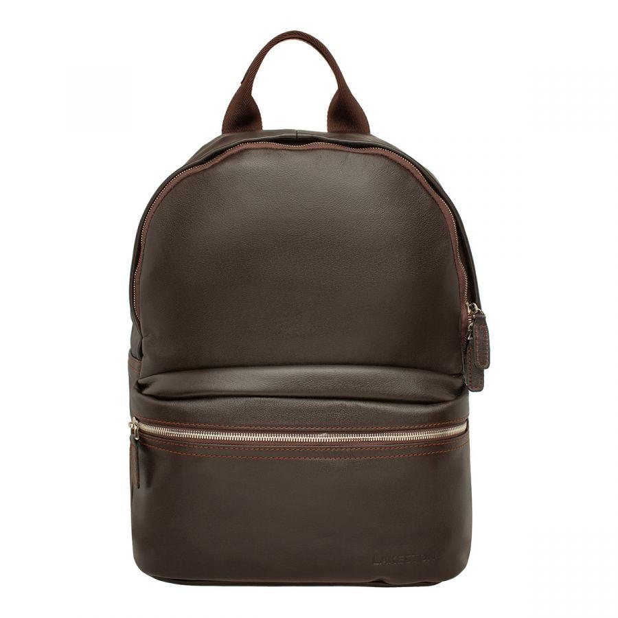 Кожаный рюкзак LAKESTONE Keppel Brown