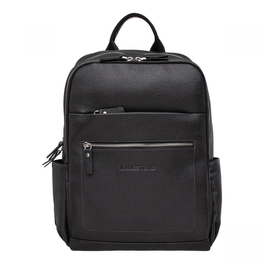 Кожаный рюкзак LAKESTONE Goslet Black