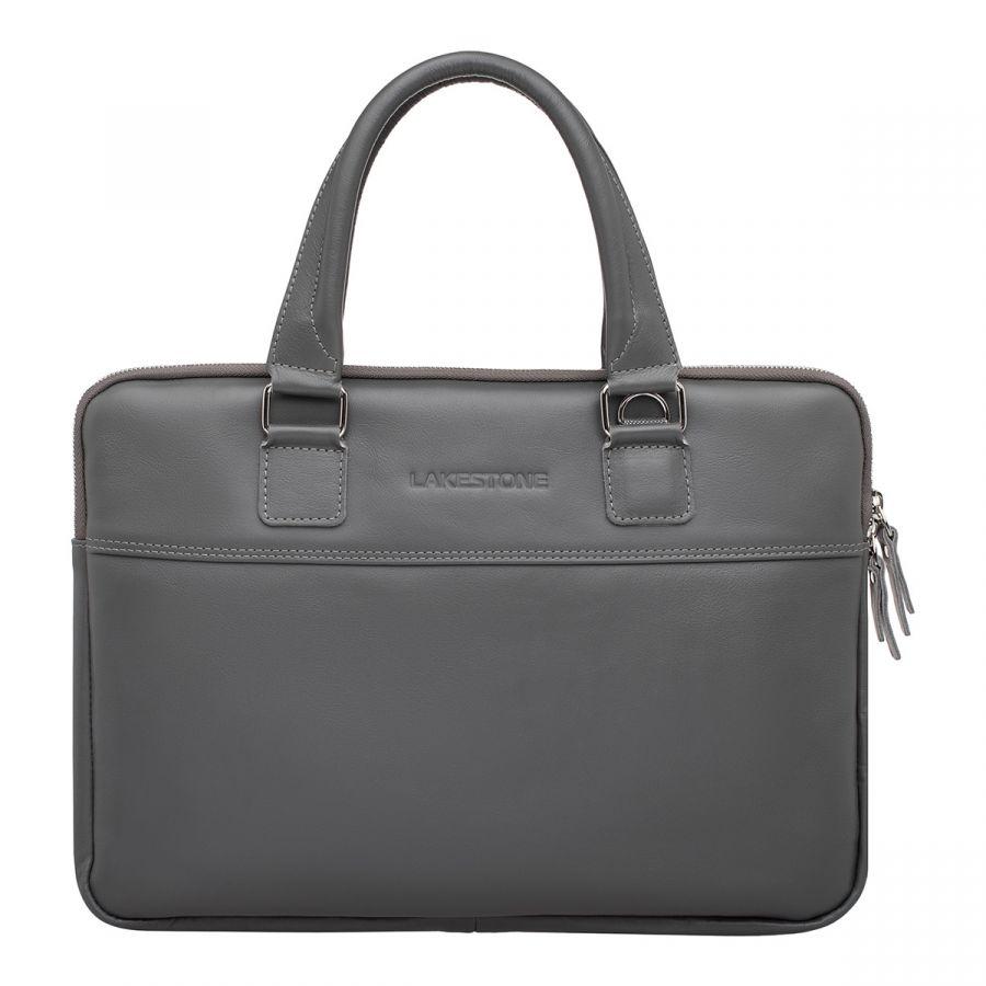 Деловая сумка для ноутбука LAKESTONE Anson Grey