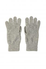 кашемировые перчатки женские (100% драгоценный кашемир) , пепельный цвет SILVER WOMENS CASHMERE GLOVES