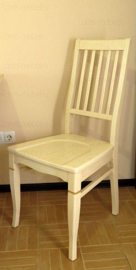 Стул Жан (Лак) ДУБ  сидушка-деревянная
