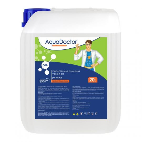 Средство жидкое для снижения pH AquaDoctor pH Minus 20 л