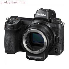 Беззеркальный фотоаппарат NIKON Z6 Body с адаптером FTZ