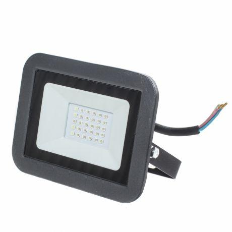 Прожектор светодиодный синий, 10 вт, IP65, 450K