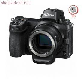 Беззеркальный фотоаппарат NIKON Z7 Body с адаптером FTZ