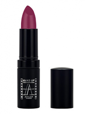 Make-Up Atelier Paris Velvet Lipstick B122V Помада Велюр ежевика