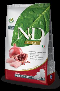 N&D Chicken & Pomegrante Puppy medium & maxi (курица и гранат для щенков крупных пород)