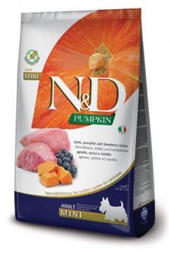 N&D Lamb Pumpkin & Blueberry Adult Mini (ягненок, тыква и черника для взрослых собак мелких пород)