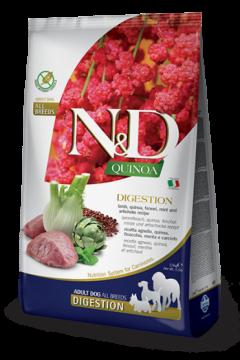 N&D Dog Quinoa Digestion Lamb Adult (Ягненок+киноа, поддержка пищеварения)