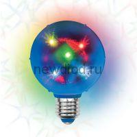Светильник светодиодный ULI-Q308 1,5W/RGB/E27 ДИСКО ШАР 3D