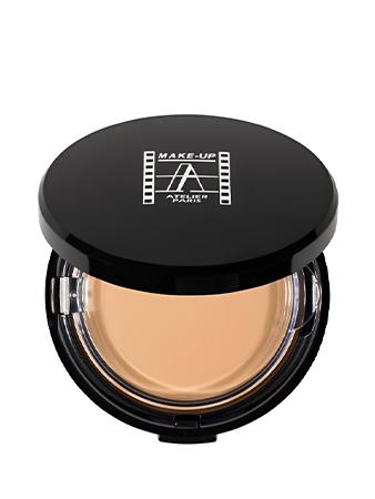 Make-Up Atelier Paris HD Powder Foundation Gilded TCHD1Y Тон компактный с зеркалом HD 1Y бледный желтый