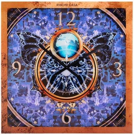 Часы Бабочка Casa Riboni