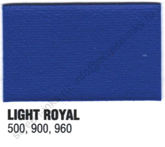 Краска пластизоль Excalibur 500 Light royal / Синий (5 кг.)