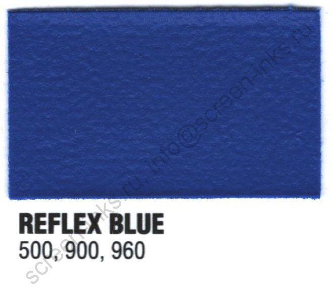 Краска пластизоль Excalibur 500 Reflex Blue / Синий (5 кг.)