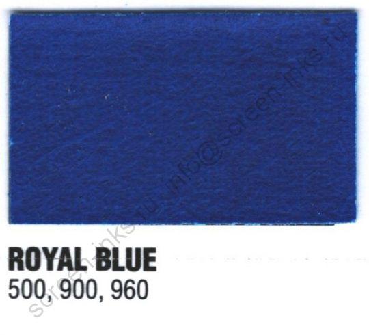 Краска пластизоль Excalibur 500 Royal Blue / Королевский Синий (5 кг.)
