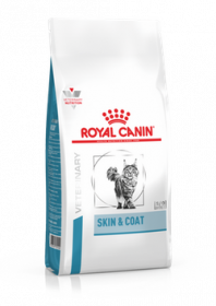 Royal Canin Skin & Coat Feline Диета для стерилизованных кошек и котов с повышенной чувствительностью кожи и шерсти, 400гр