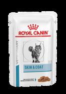Royal Canin Skin & Coat Feline Диета для стерилизованных кошек и котов с повышенной чувствительностью кожи и шерсти, 100гр