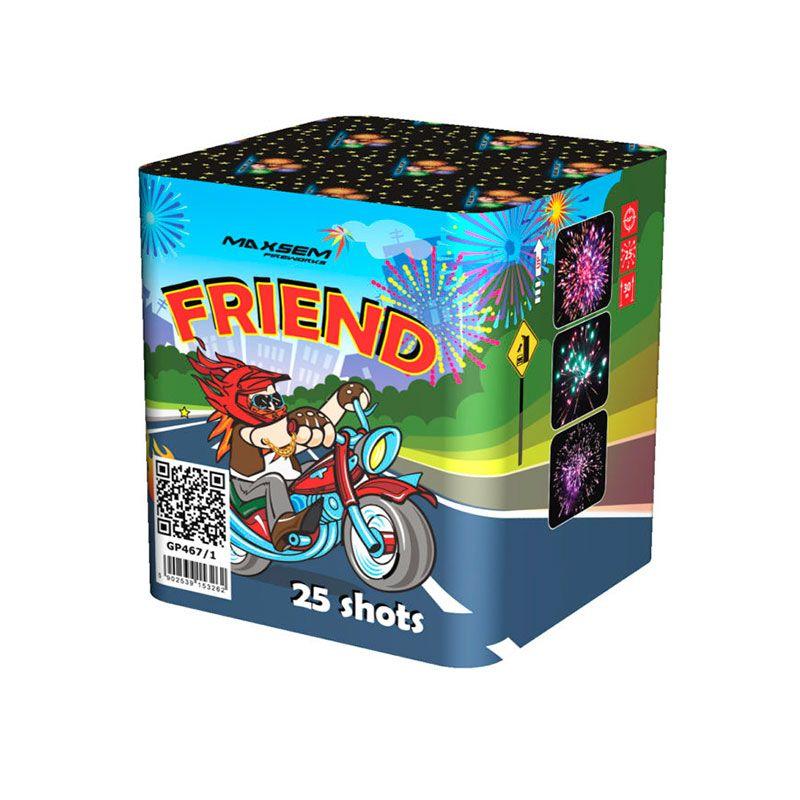 Батарея салютов FRIEND 25 x 0.8  GP467/1