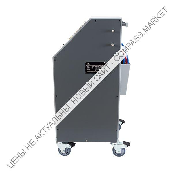 Установка для заправки автокондиционеров GrunBaum AC3000N, полуавтоматическая, R134a