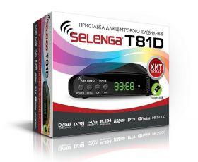 приставка цифрового телевидения DVB-T2 SELENGA T81D