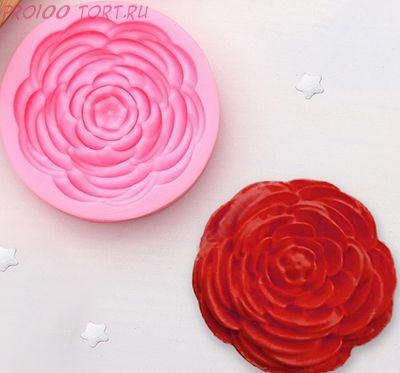 Молд силиконовый Роза большая