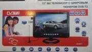 """LS-107T Автомобильный портативный телевизор с DVB-T2 10"""""""