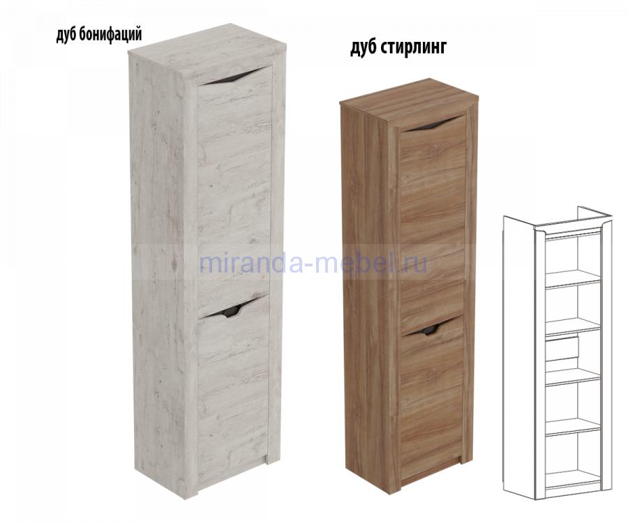 Шкаф однодверный Соренто 385