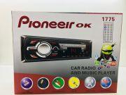 1775 Магнитола PioneeirOK +USB+AUX+Радио