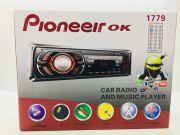 1779 Магнитола PioneeirOK +USB+AUX+Радио