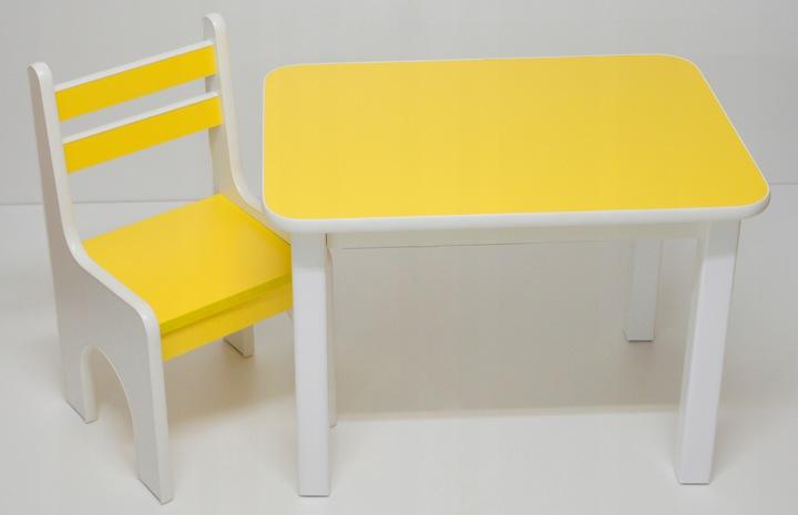 Стол со стулом для детской комнаты