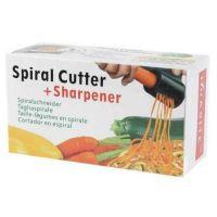 Нож спиральный двойной с точилкой для ножей Spiral Cutter Sharpener_2