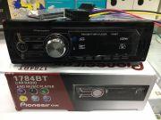 1784BT Магнитола PioneeirOK +USB+AUX+Радио+BT