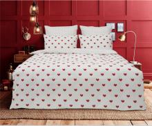 Постельное белье Сатин Sweet Love  1.5-спальный  Арт.1746-1